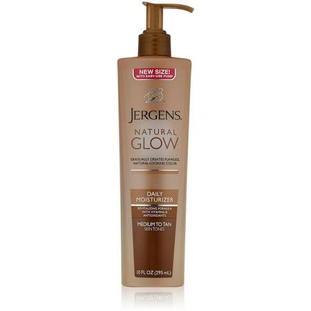 2 Pack - Jergens Natural Glow Daily Moisturizer Medium to Tan Skin Tones 10