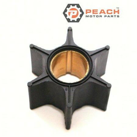Peach Motor Parts PM-47-89984T-4  PM-47-89984T-4 Impeller, Water Pump (Neoprene); Replaces Mercury Marine®: 47-89984T 4, 47-89984T4, 47-89984T 3, 47-89984T3, 47-89984B 3, 47-89984B3, 47-89984B 2, 47-8