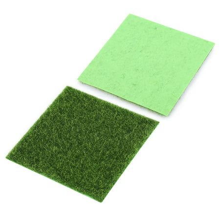 Rdeghly 10 PCS Artificial Grass Mat Turf Lawn Garden Micro Landscape Ornament Home Decor, Artificial Turf, Synthetic Turf - image 4 of 8