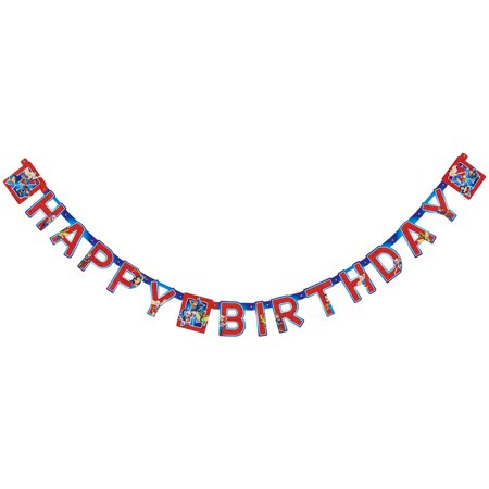 DC Super Hero Girls Birthday Party Banner 759 Ft