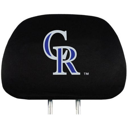 MLB Colorado Rockies Headrest Covers
