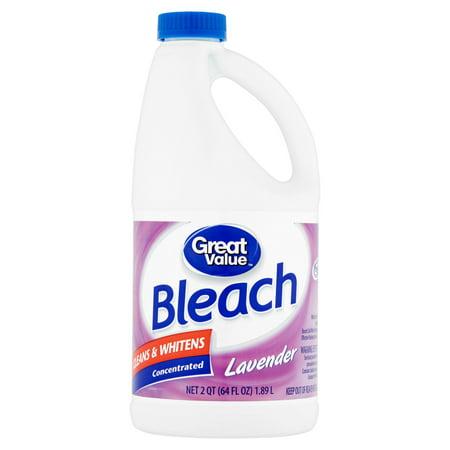 Great Value Bleach, Lavender Scent, 64 fl oz