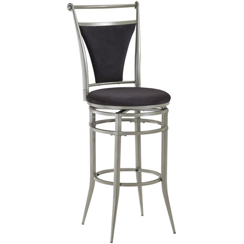 Hillsdale Furniture Cierra 45 Quot Swivel Bar Stool Pewter