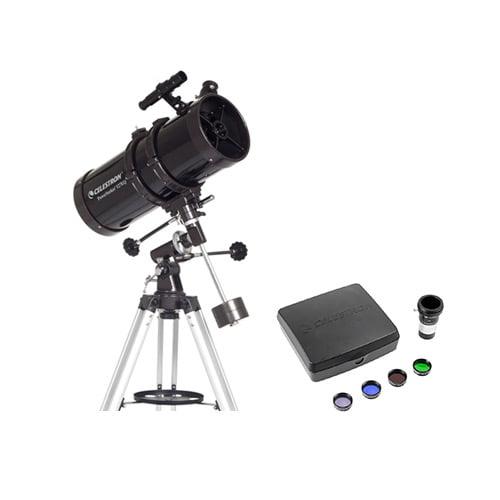 Celestron PowerSeeker 127EQ Newtonian Telescope-Deluxe Imaging