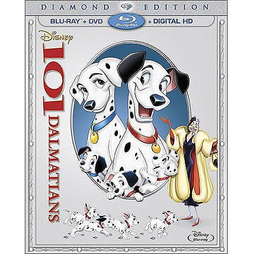 Click here to buy 101 Dalmatians (Diamond Edition) (Blu-ray + DVD + Digital HD) (Full Frame) by Buena Vista.