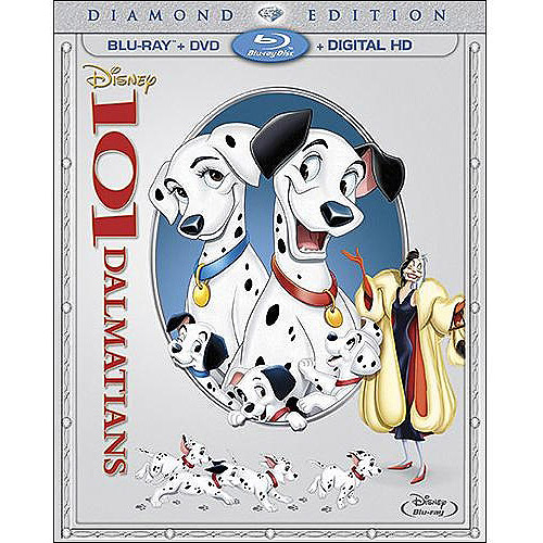 101 Dalmatians (Diamond Edition) (Blu-ray + DVD + Digital HD) (Full Frame)