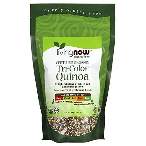 Now Foods Tri-Color Quinoa Org 14 Oz (Pack Of 10)