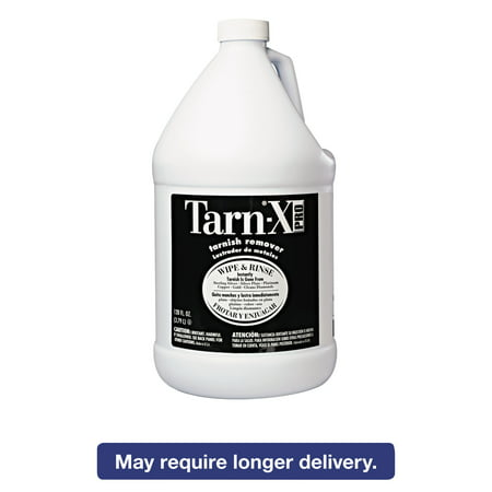 Tarnish Remover Plate - Tarn-X PRO Tarnish Remover, 1gal Bottle