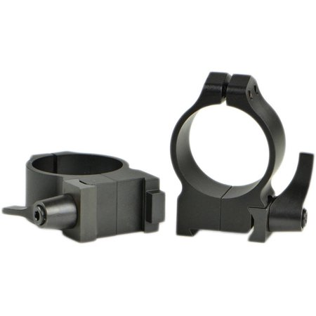Warne Scope Mounts 14BLM 30mm CZ 550 Quick