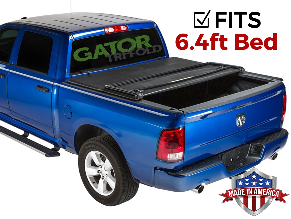 Gator Etx Tri Fold Fits 2019 Ram 1500 6 4 Ft Bed No Rambox New Body Only Tonneau Truck Bed Cover Made In Usa 59422 Walmart Com Walmart Com