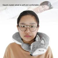 LYUMO Fox Shape Travel Neck Pillow Soft Air U Shape Health Pillow , Bolster Pillow, Travel Pillow
