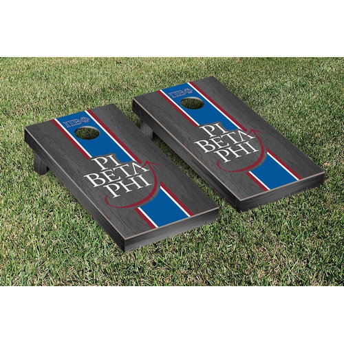 Victory Tailgate Pi Beta Phi Stained Cornhole Game Set