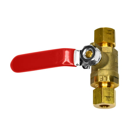- Brass Ball Valve, 1/4