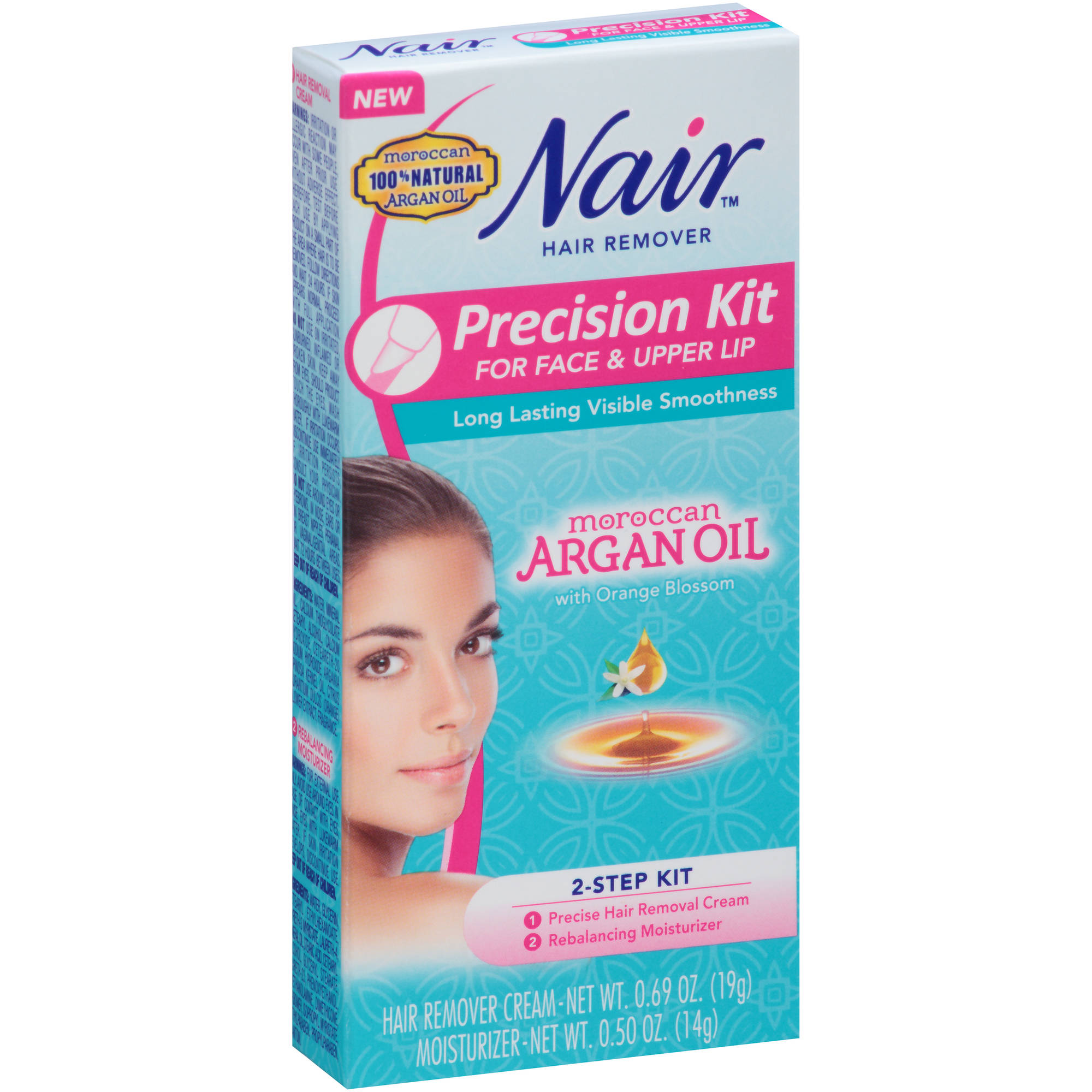 Nair Precision Kit for Face & Upper Lip Hair Remover