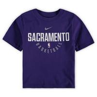 Sacramento Kings Preschool On-Court T-Shirt - Purple