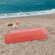 "Mainstays Pink Beach Towel, 30"" x 60"", 4 Pack"