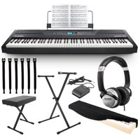 Alesis Recital Pro 88-Key Digital Piano w Hammer-Action Keys + Bundle