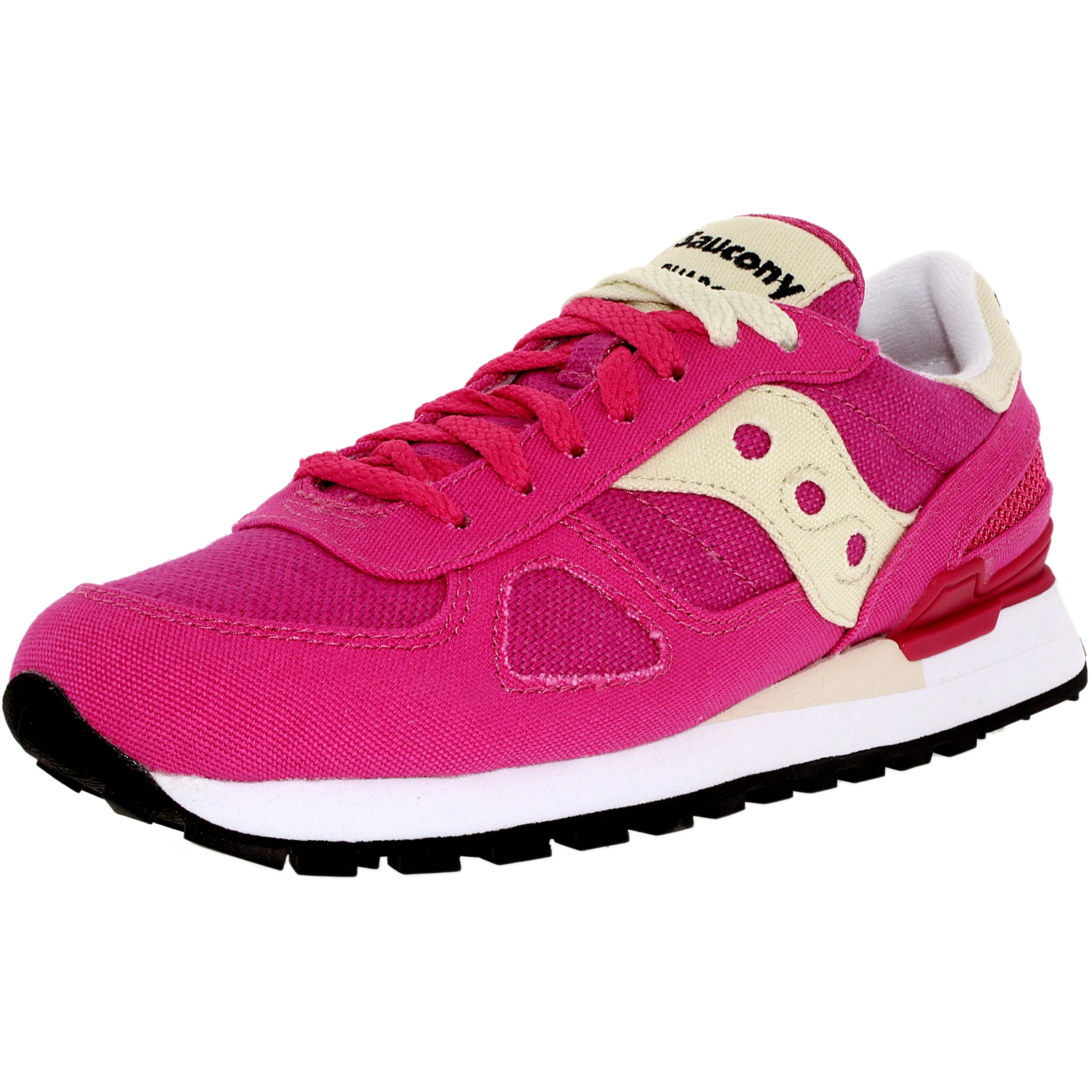 Saucony Women's Shadow Original Pink Ankle-High Fashion Sneaker 5.5M by Saucony
