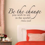 Belvedere Designs LLC Be The Change Wall Quotes  Decal