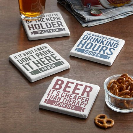 Personalized Beer Quotes Coasters - Personalized Photo Coasters