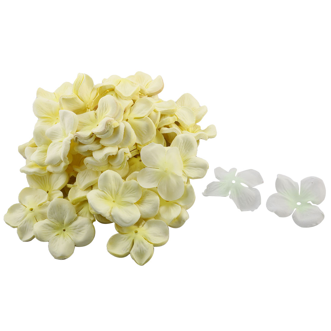 Wedding Party Bridal Table Fabric Flower Petal Decorations 1200 PCS