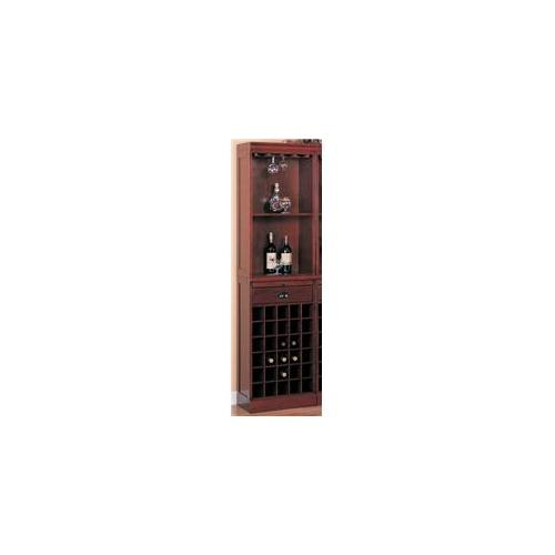 Coaster 3080-1 Lambert Traditional Wine Wall Bar Unit