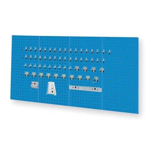 KENNEDY 50004UB Toolboard Wall Storage Kit, Square, Blue