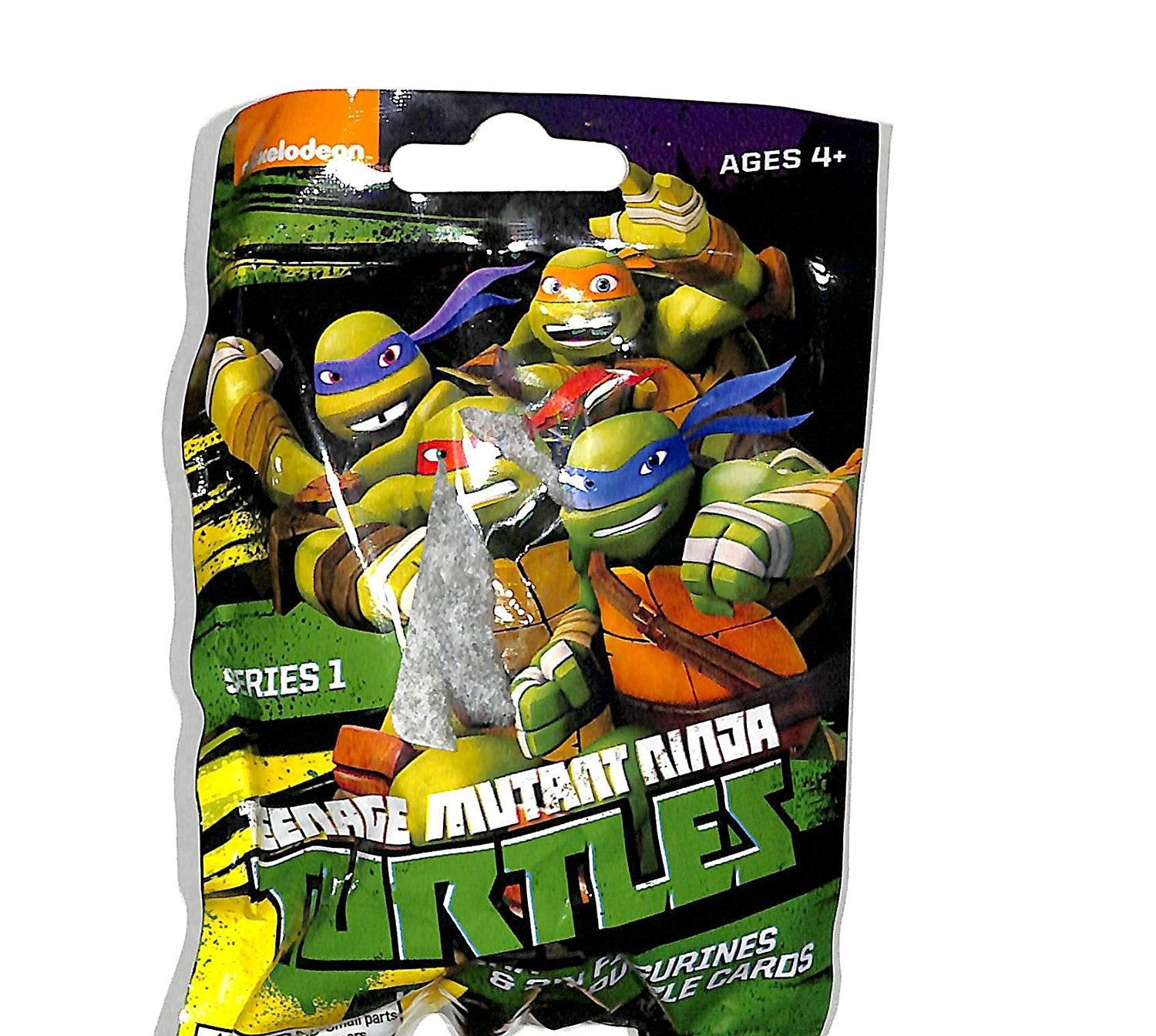 Nickelodeon Teenage Mutant Ninja Turtles Keychain 3d Puzzle 5 Sealed packs by bulls i toy