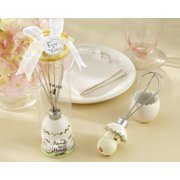 Kate Aspen About to Hatch Stainless-Steel Egg Whisk in Showcase Gift Box - Set of 6 - Hostess Gift, Guest Gift, Party Souvenir, Party Favor or Decorations for Baby Showers & More