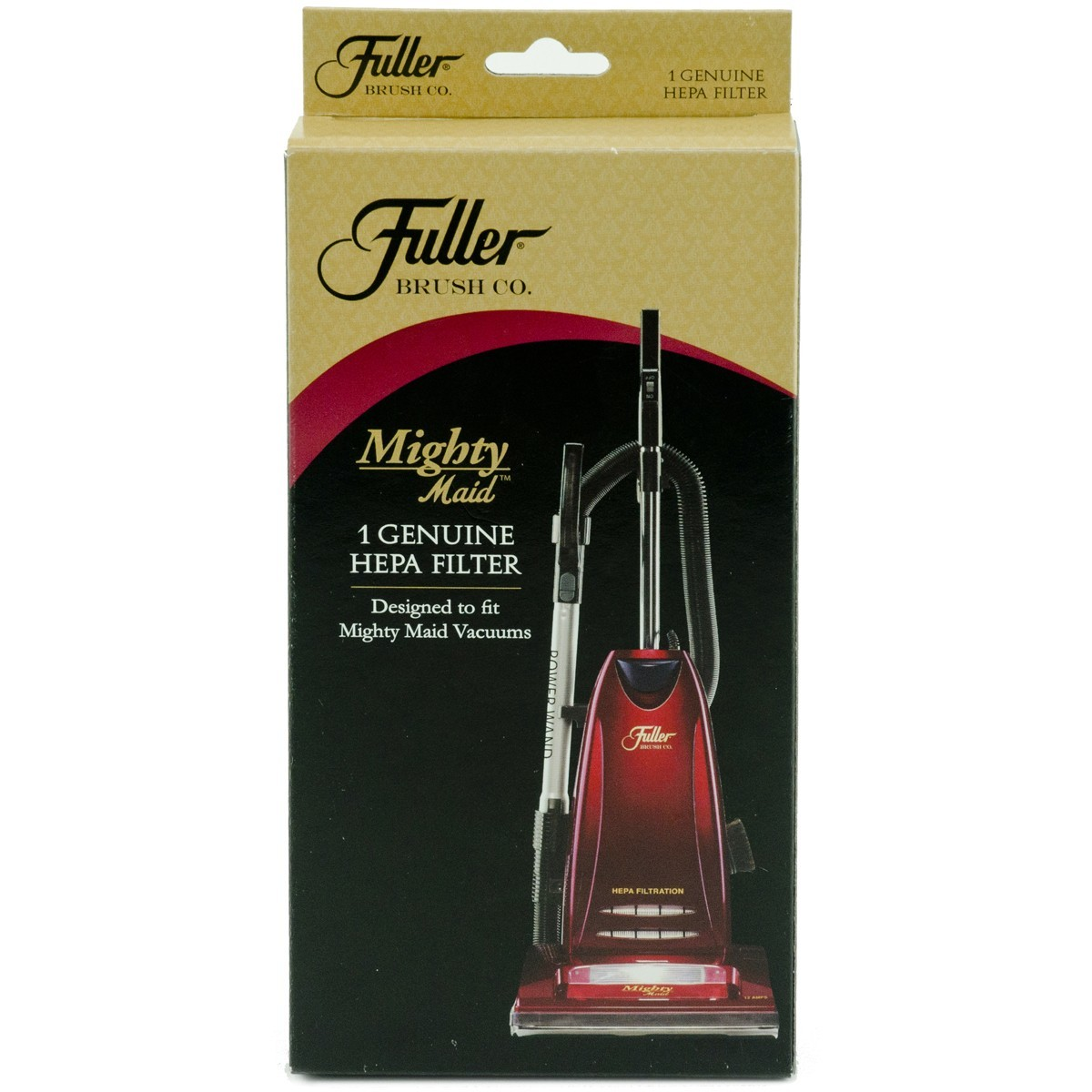 Fuller Brush HEPA Media Filter Fits Might Maid & Other Upright Vacuums