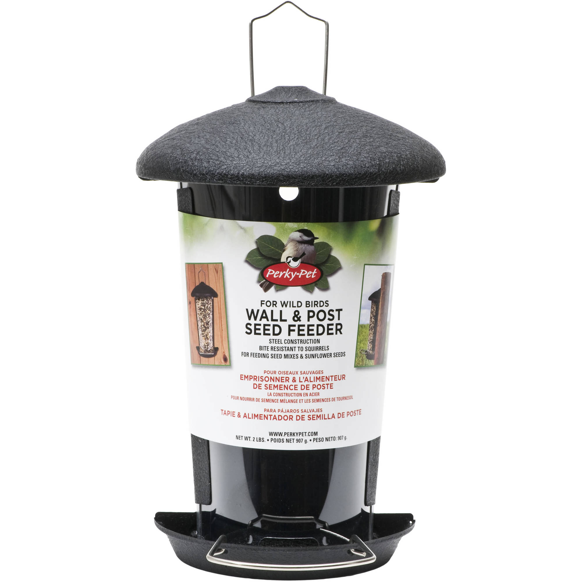 Perky-Pet Wall and Post Mount Wild Birdfeeder by Generic