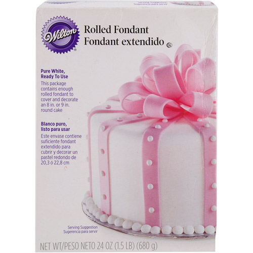 Wilton Rolled Fondant, White