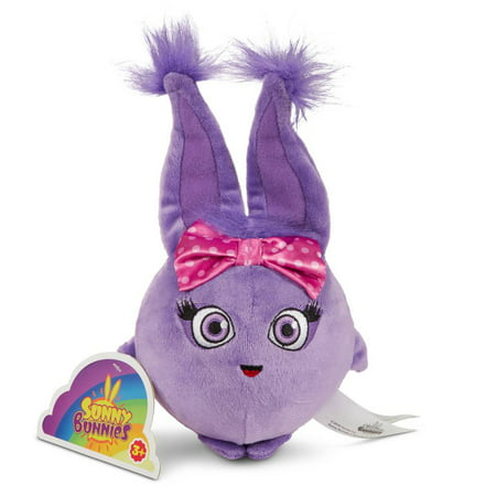 Happy Bunny Bunny (Sunny Bunnies Light Up and Bounce Plush - Iris )