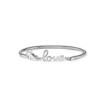 Sterling Silver Love Bracelet