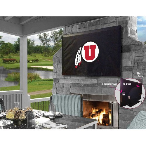 NCAA TV Cover by Holland Bar Stool, Utah Utes - 35'' x 25''