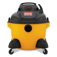 Shop-Vac Right Stuff Wet/Dry Vacuum, 8 Amps, 19lbs, Yellow/Black