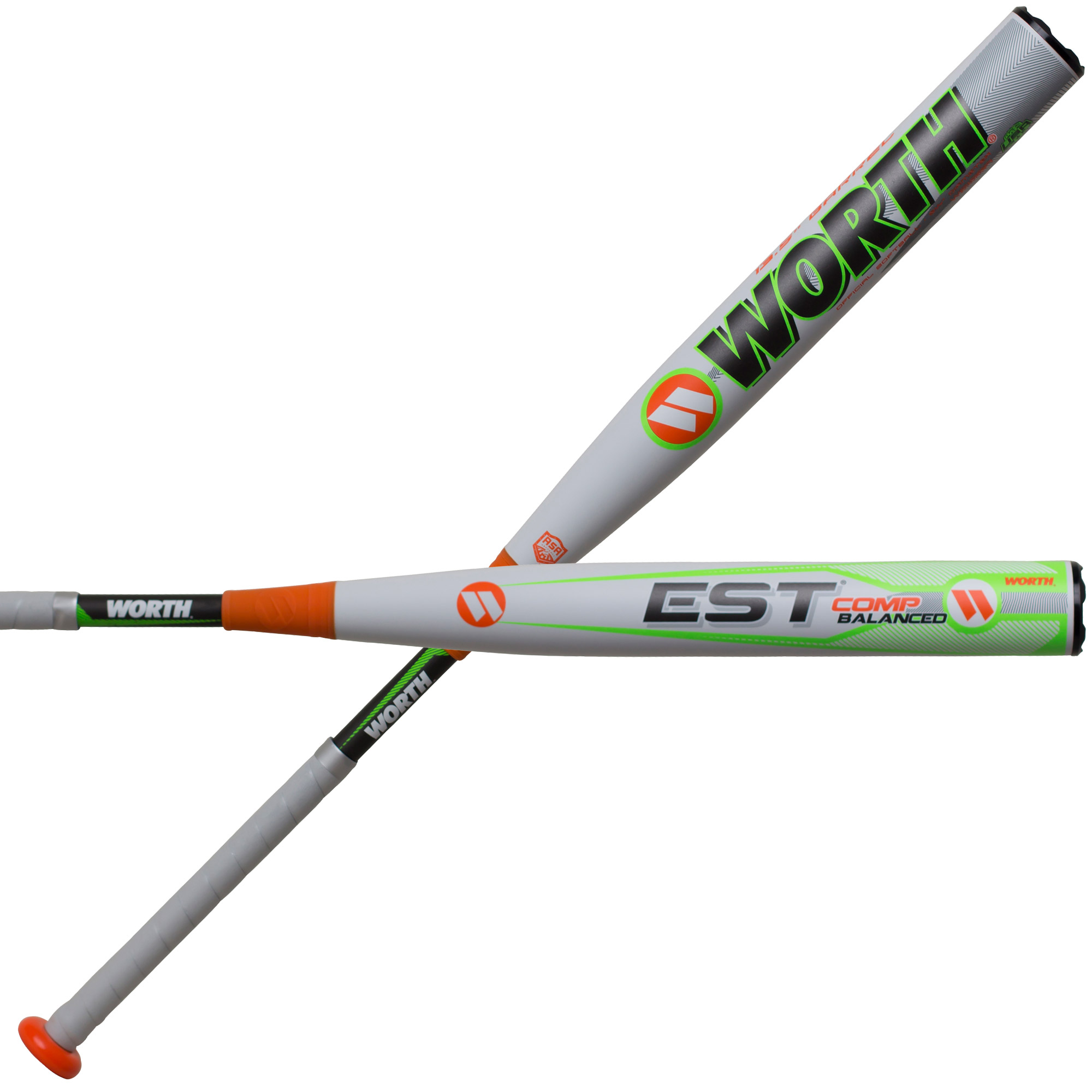 Worth EST COMP Balanced ASA WE19BA Slowpitch Softball Bat