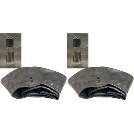 Farm Equipment Parts - Set of 2 (Two) Farm Tractor Implement Tire Inner Tubes TR 15 Rubber Valve 19