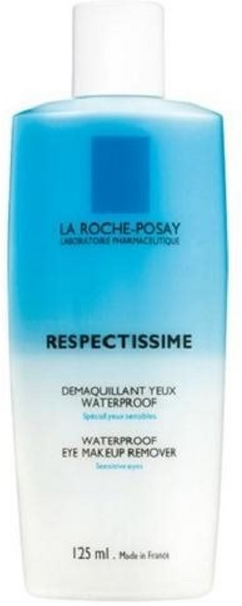 2 Pack - La Roche-Posay Respectissime Waterproof Eye Makeup Remover 4.2 oz Honey and Almond