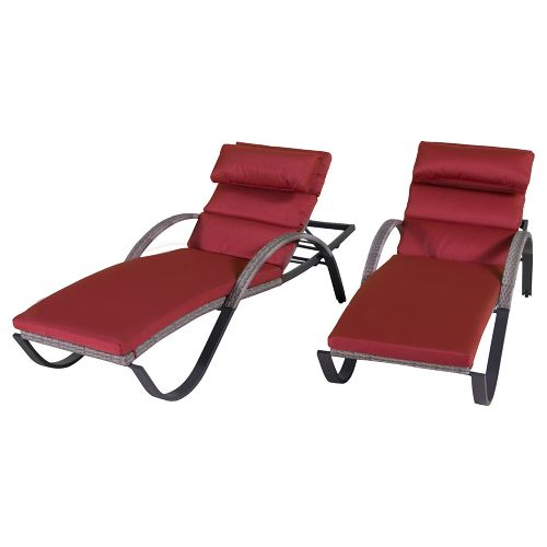 RST Brands Cannes Chaise Lounge - Set of 2