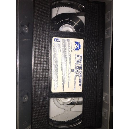 USED Dora the Explorer - To the Rescue (VHS, 2001) - Dora Halloween Vhs