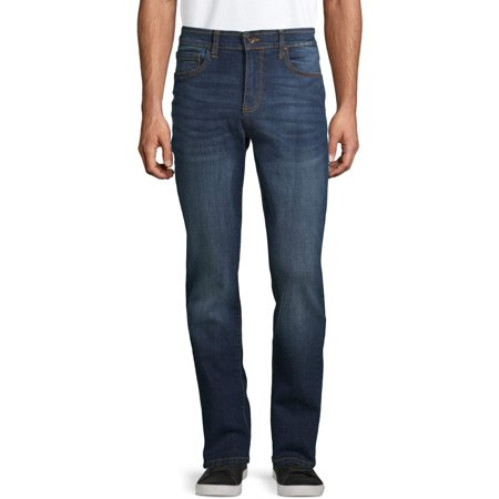 Lazer Men's Flex Denim Slim Straight Jeans