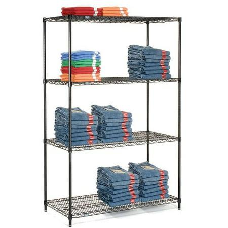- Nexel 4 Shelf Shelving Unit Starter