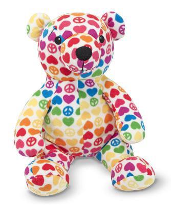 Melissa & Doug Hope Bear Patterned Pal Teddy Bear Stuffed Animal by Generic