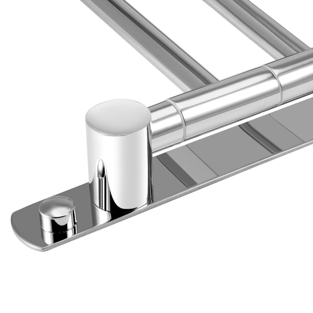 201 Stainless Steel 3 Bar Folding Arm Swivel Hanger Towel Rail Chrome Planted - image 3 of 4