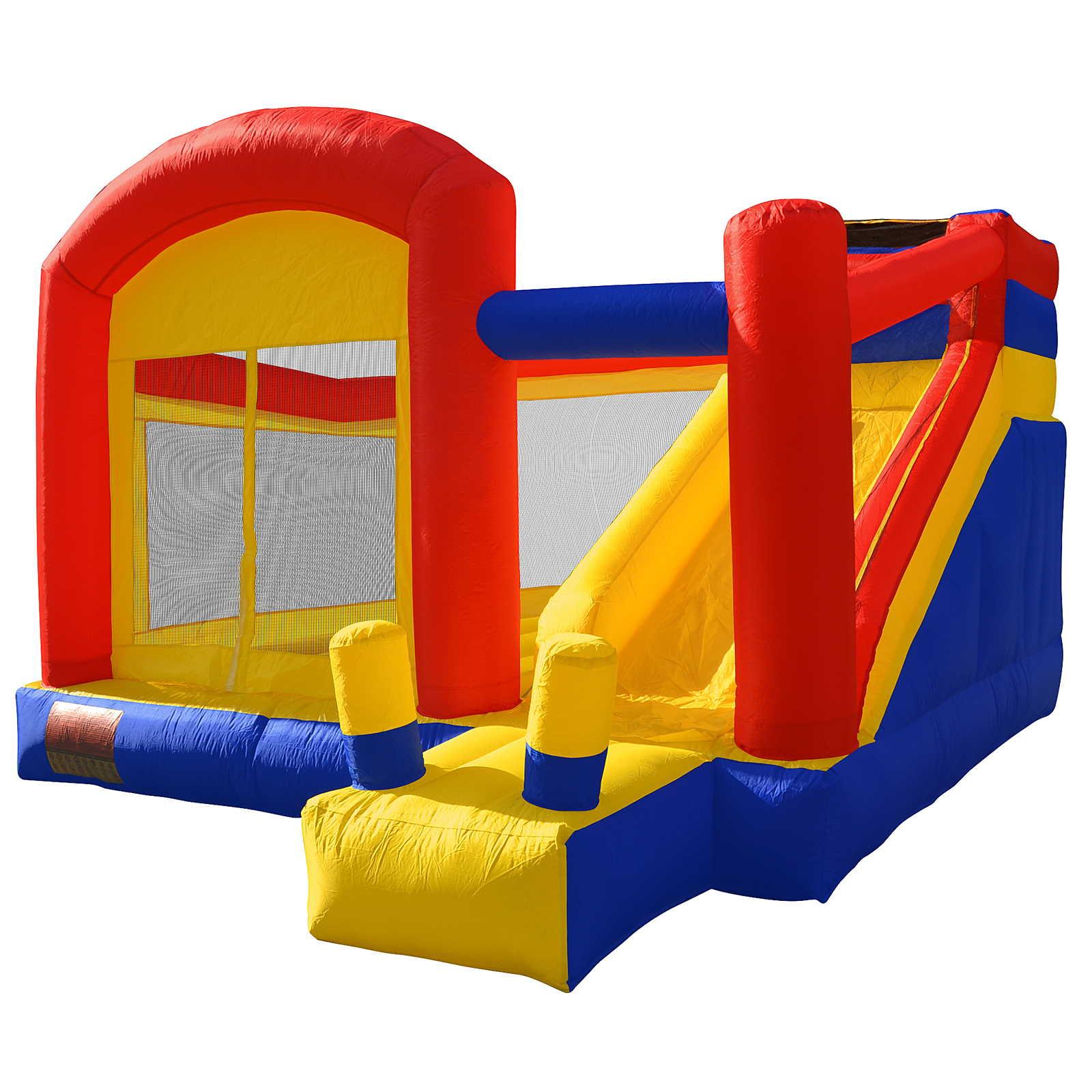 Cloud Nine Super Slide Bounce House - Inflatable Sliding ...