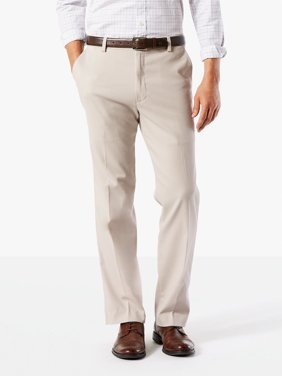 Dockers Men's Classic Flat Front Easy Khaki with Stretch