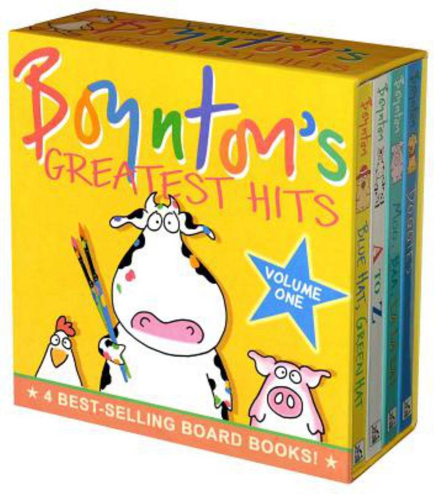 Boynton's Greatest Hits: Volume 1/Blue Hat, Green Hat; A to Z; Moo, Baa, La La La!; Doggies