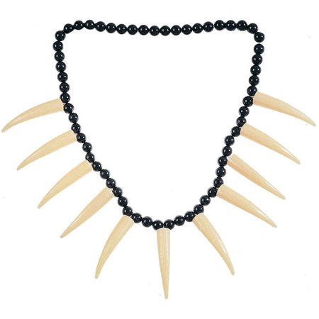 Caveman or Cavewoman Costume Necklace