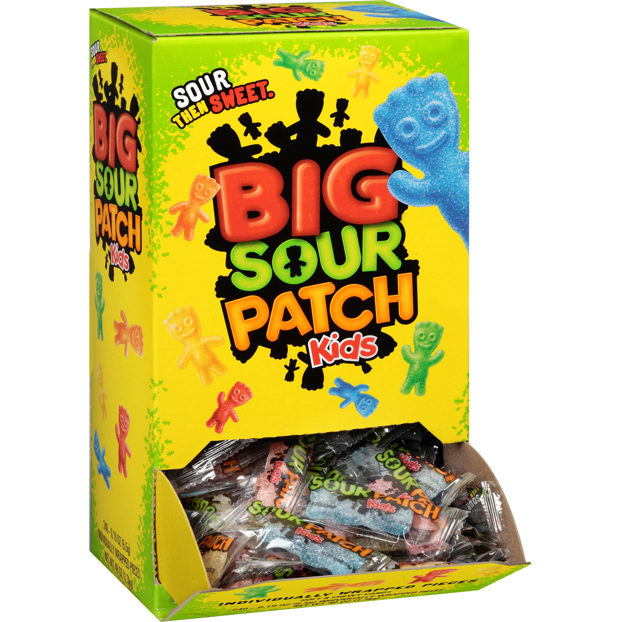 Sour Patch Kids Candy, 0.21 oz, 240 count